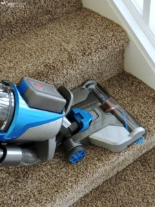 vacuum mud on carpet